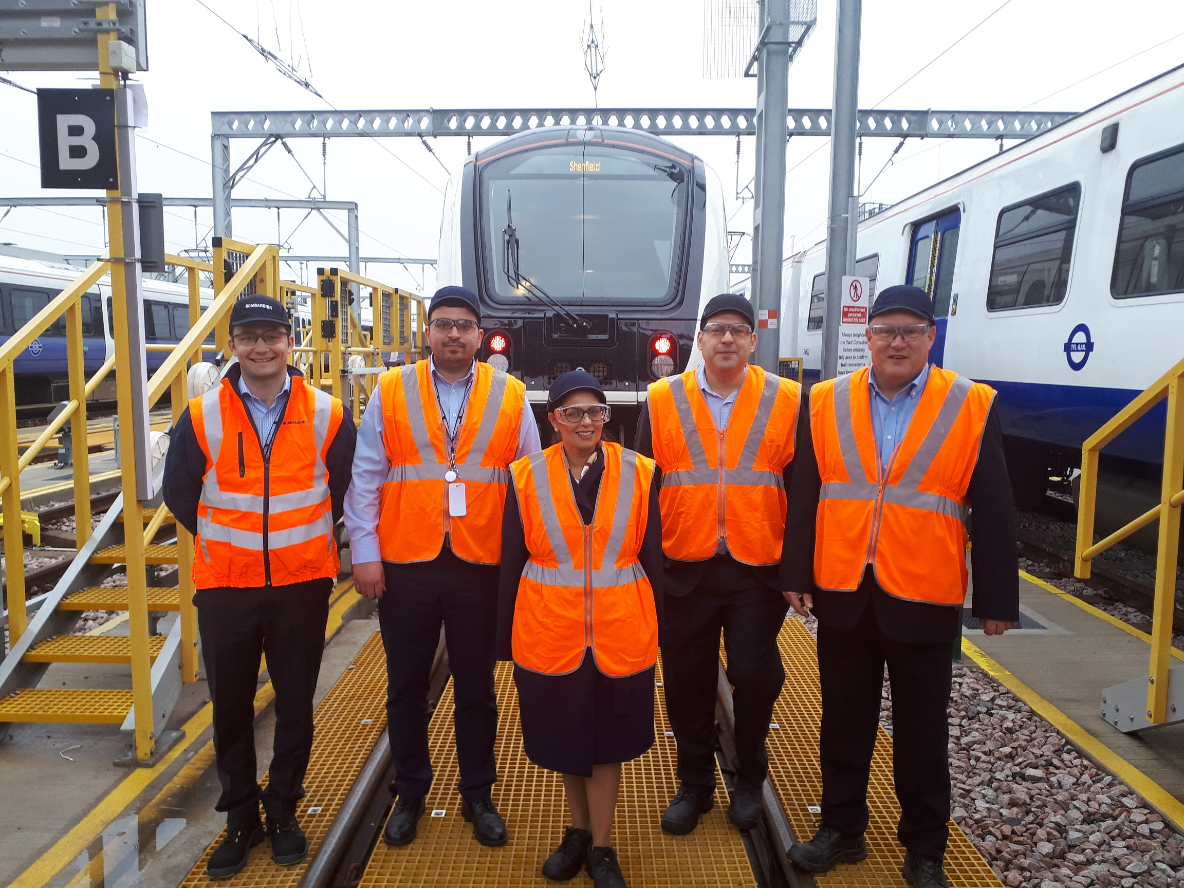 Priti Patel becomes latest Rail Fellow after hands-on day on